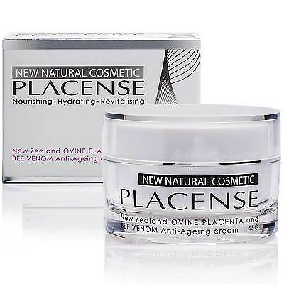 $29.99 • Buy All Natural Placense New Zealand Bee Venom & Sheep Placenta Face Neck Cream 45g