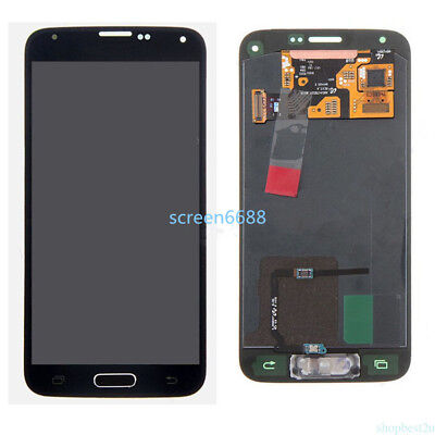 For Samsung Galaxy S5 Mini G800F LCD Display Touchscreen Digitizer Schwarz+cable • 39.84£