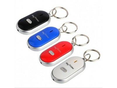 New Keys Chain LED Key Finder Locator Find Lost Key Chain Whistle Sound Control  • 2.99£