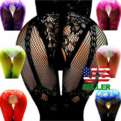 $6.22 • Buy Sexy Lingerie Bodystocking Stockings Babydoll Bodysuit Nightwear Lace Sleepwear
