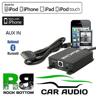 Ford Focus 2004 - 2007 Car Stereo AUX IN IPod IPhone Interface Cable Adaptor • 89.99£