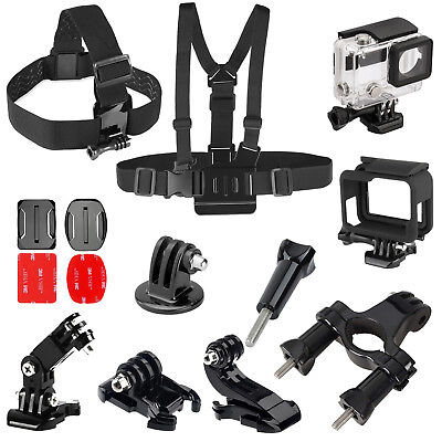 $ CDN10.92 • Buy Sports Camera Accessories Kit Set For GoPro Go Pro Hero 5 4 3+3 2 1 Outdoors US