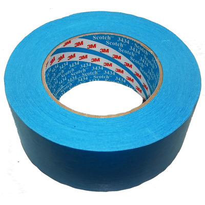 $ CDN12.39 • Buy 3M Protection Tape 50mm X 50m Blue Car Painting Masking Water Solvent Resistant
