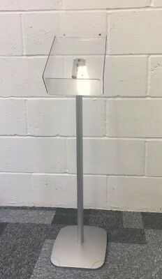 100 X A4 Portrait Floor Standing Brochure Holder With Display Header/ Stand POS • 750£