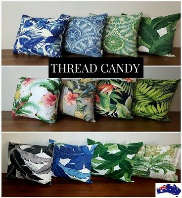 AU44.99 • Buy Tropical Outdoor Cushion Covers *ALL Sizes* Authentic Tommy Bahama Fabric