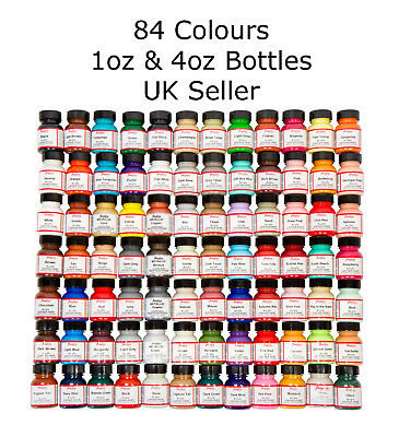 Angelus Acrylic Leather Paint For Sneakers, Shoes, Bags - 84 Colours - 1oz / 4oz • 7.25£