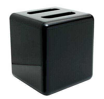 Square 4 Litre Ice Bucket With Lid Black Bar Ice Bucket Bar Pub Beaumont • 12.95£