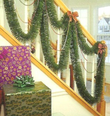 $5.99 • Buy Christmas Garland  12 Feet  Soft Pine Decoration Indoor Green