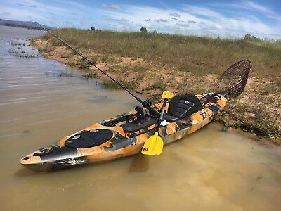 AU549 • Buy Jetocean 3.6M 12ft Single Sit-On Fishing Kayak With Paddle And Seat Melbourne