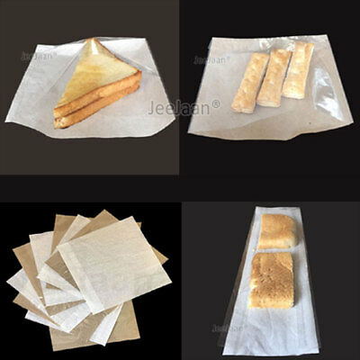£4.75 • Buy Film Front Paper Bags Cellophane Clear Window Sandwich Bags Food Card Cake Cheap