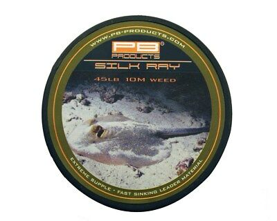 £14.99 • Buy PB Products Silk Ray 45lb Leadless Leader Material In Gravel,Silt Or Weed