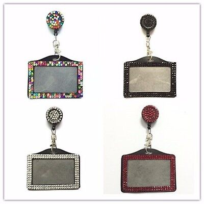 Id Card Holder Badge Landscape  And A Retractable Reel Holder  • 2.99£