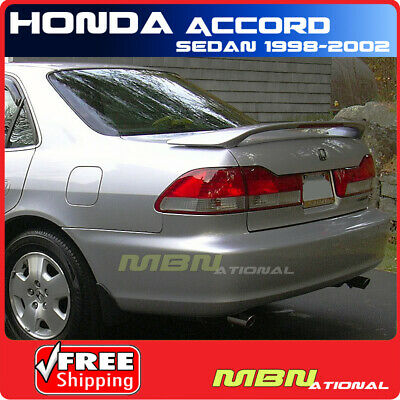 $ CDN158.13 • Buy 98-02 For Honda Accord Sedan Rear Trunk Spoiler Painted B92P NIGHTHAWK BLACK