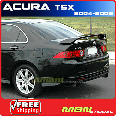 $118.05 • Buy 04-08 For Acura TSX Rear Trunk Spoiler Painted ABS NH658P GRAPHITE PEARL