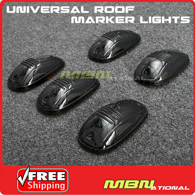 $14.99 • Buy 5pcs LED Cab Lights Amber Running Marker Parking Roof For Truck 4x4 Pickup SUV