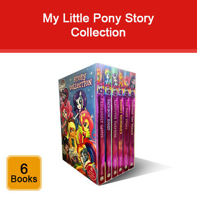 My Little Pony Story Collection Equestria Girls 6 Books Box Set Children Pack  • 14.21£