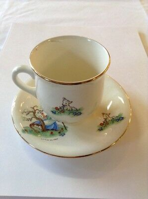 $ CDN39.99 • Buy Rare Royal Winton Grimwades China Little Bo-Peep Cup And Saucer Demitasse Childs