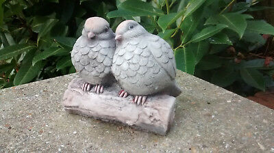 £10 • Buy Love Birds  - Garden Ornament  - Hand Cast