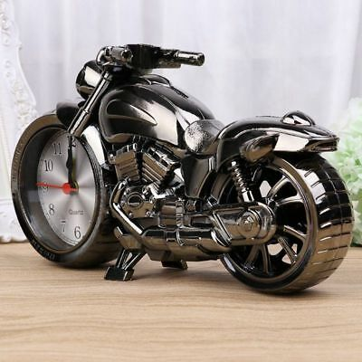 Motorbike Alarm Clock Cool Motorcycle Design Creative Home Novelty Birthday Gift • 6.69£