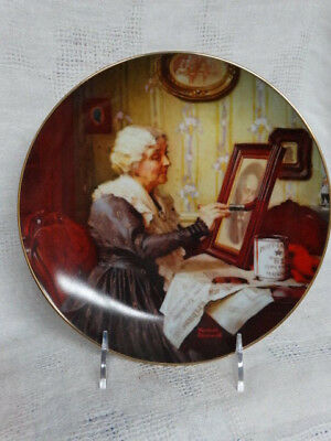 $ CDN12.50 • Buy Grandma's Love Normal Rockwell Plate By Edwin M Knowles China Co.