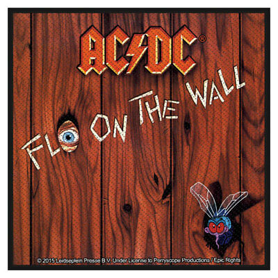 £3.95 • Buy ACDC Fly On The Wall Patch Sew On Official Badge Album Band Rock