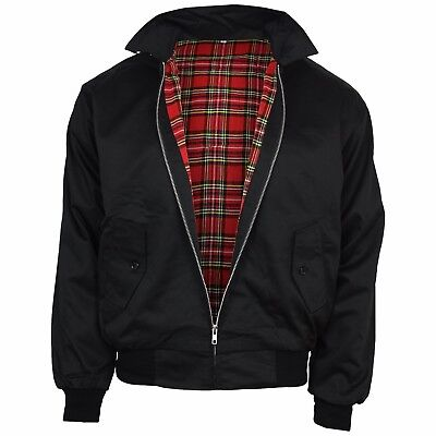 Relco Black Harrington Jacket Skinhead Mod Scooter Ska Northern Soul XS - XXXL • 34.99£