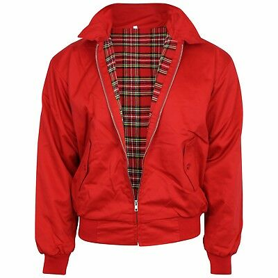 Relco Red Harrington Jacket Skinhead Mod Scooter Ska Northern Soul XS - XXXL • 34.99£