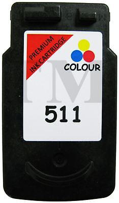 £14.95 • Buy Remanufactured CL 511 Colour Ink Fits Canon Pixma IP2700 All-In-One