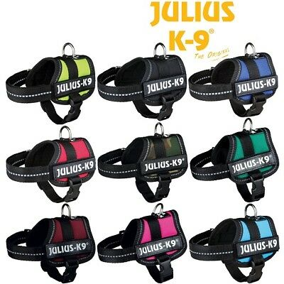 £18.99 • Buy Julius K9® Strong Adjustable Power Harness Reflective Dog Puppy Robust Harnesses
