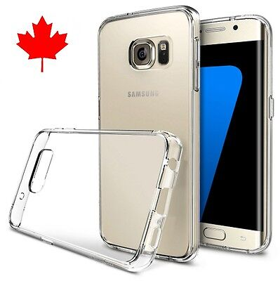 $ CDN3.96 • Buy Case For Samsung GALAXY S7 EDGE-Superior / Best Quality Clear TPU Gel Case
