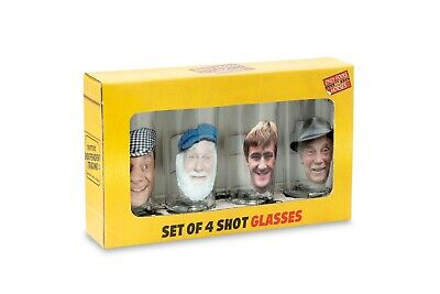 Only Fools And Horses Official SHORT GLASS SET In Presentation Box • 14.99£