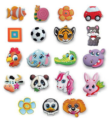 Kids Rubber Handles /Childrens Novelty Wardrobe Drawer Cabinet Cupboard Knobs • 1.99£