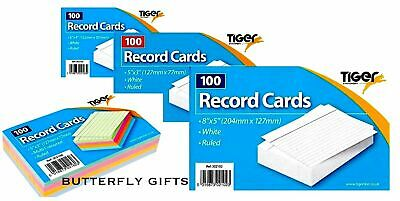 £2.75 • Buy Tiger Revision Flash Index Prompt Report Record Cards Students College Office