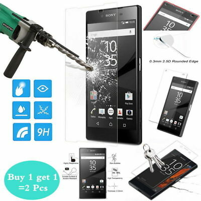 AU2.59 • Buy For Sony Xperia XZ Premium XA1  Tempered Glass Screen Protector Film Protection
