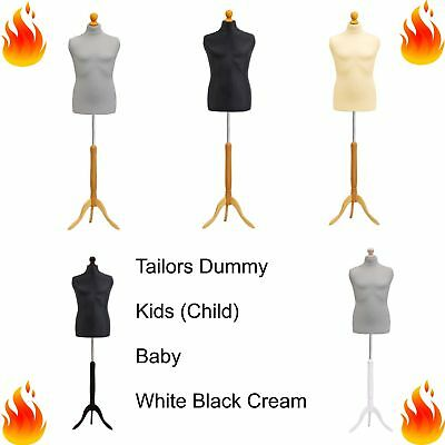 £36.35 • Buy Kids Child Baby Tailors Dummy Dressmakers Bust Retail Display Fashion Mannequin