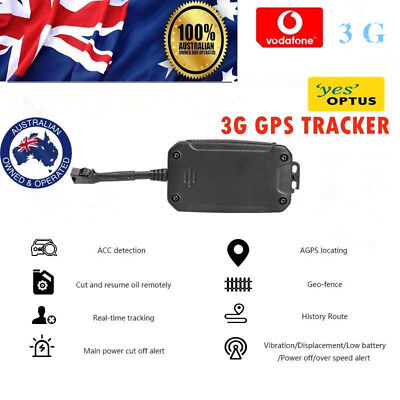 AU89.09 • Buy Car 3G GPS Tracker Tracking Device Real Live Time Vehicle Yacht Boat Caravan OZ
