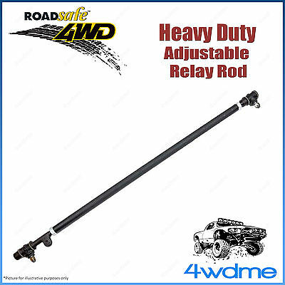 AU245 • Buy Fits Toyota Landcruiser VDJ 76 78 79 Series Roadsafe Adjustable Front Drag Link