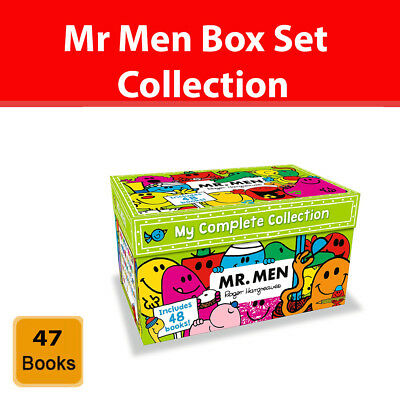 £35.98 • Buy Mr Men My Complete Collection 48 Books Box Set Gift Pack By Roger Hargreaves New