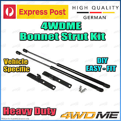 AU115 • Buy Toyota Hilux KUN26 N70 4WD Front Bonnet Strut German Quality 4WDME Easy DIY KIT
