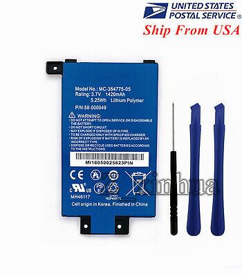 $10.80 • Buy New OEM Battery 58-000049 For Amazon Kindle PaperWhite 2nd / 3rd Gen DP75SDI