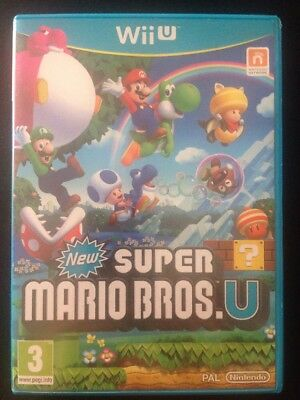 AU30 • Buy Nintendo Wii U Game - New Super Mario Bros. U (boxed)