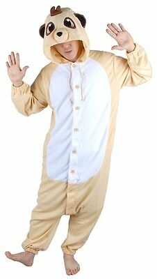 Nw Flying Meerkat Unisex Kigurumi Costume Unique Animal Pajamas Loungewear Suit • 65.03£