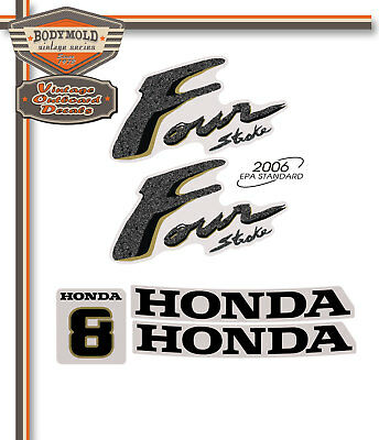 AU44 • Buy HONDA 8hp 4 Stroke Decals/stickers  Quality Product