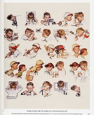 $ CDN16.57 • Buy Norman Rockwell Saturday Evening Post DAY OF A BOY