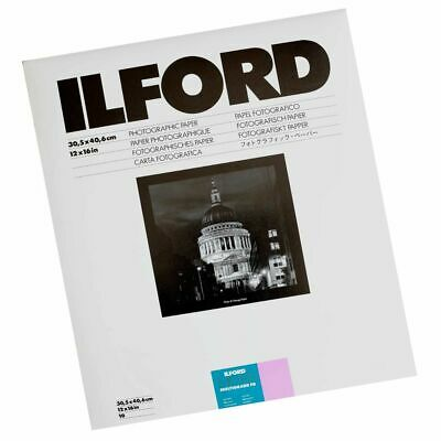 Ilford Multigrade Fibre Base 12x16 Gloss Paper - 50 Sheets • 125.70£