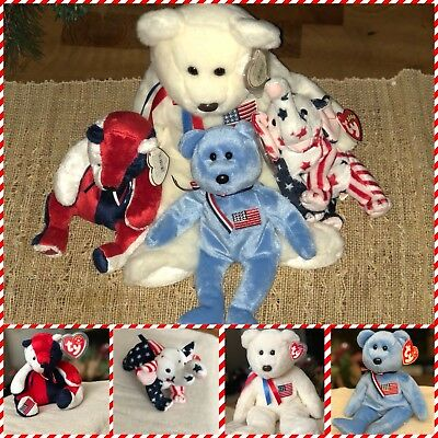 "$300 • Buy Beanie Babies Retired(bundle) ""America"" Most Valuable And Other Collectibles"
