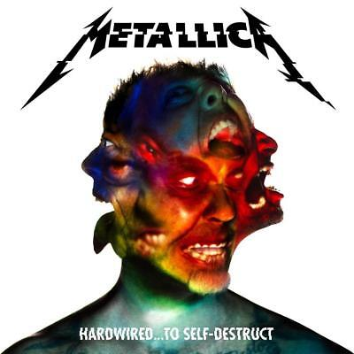 Metallica Hardwired To Self-Destruct 2016 Album Cover Canvas Art Poster Print • 18£