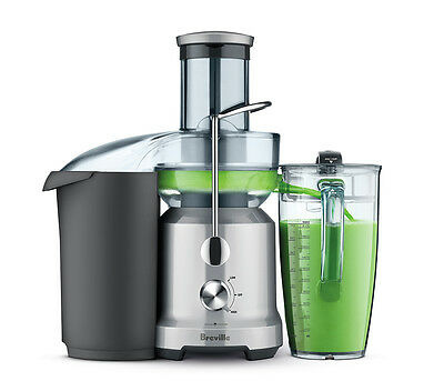 Breville BJE430SIL Juice Fountain Cold  Juice Extractor 110 Volts • 128.71£