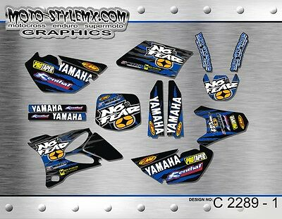 AU139.90 • Buy Yamaha YZ 85 2001 Up To 2014 Graphics Decals Kit Moto StyleMX