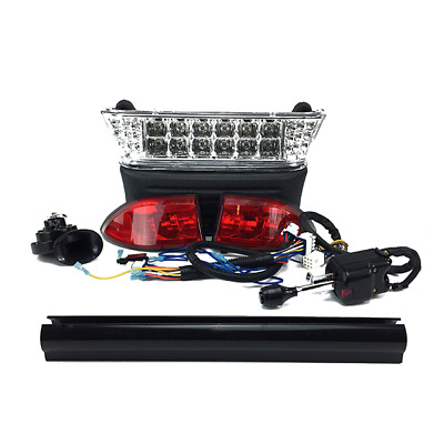$169.95 • Buy Club Car Precedent Electric Golf Cart Deluxe LED Light Kit W/ Turn Signals 04-08